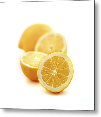 Lemons Metal Print by Elena Elisseeva