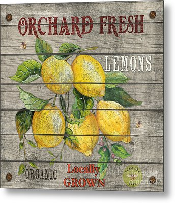 Lemons-jp2679 Metal Print by Jean Plout