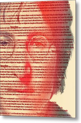Lennon  Metal Print by Mark Ashkenazi