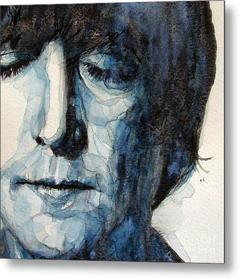 Lennon Metal Print by Paul Lovering