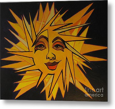 Lenny - Here Comes The Suns Metal Print