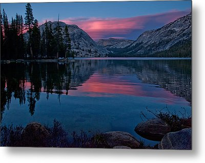 Lenticular Sunset At Tenaya Metal Print by Cat Connor