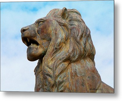 Metal Print featuring the photograph LEO by Dick Botkin