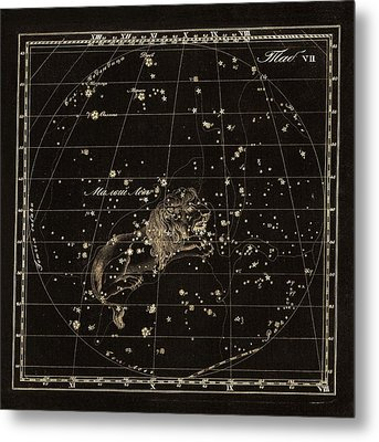 Leo Minor Constellation, 1829 Metal Print by Science Photo Library