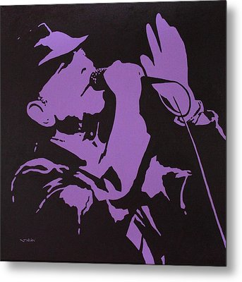 Leonard Cohen The Tower Of Song Metal Print