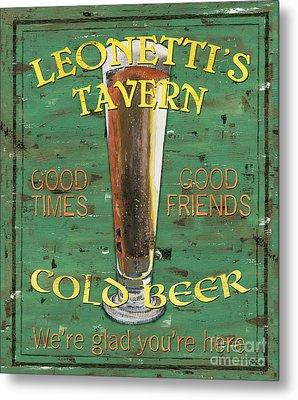 Leonetti's Tavern Metal Print by Debbie DeWitt