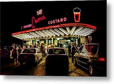 Leon's Frozen Custard Metal Print