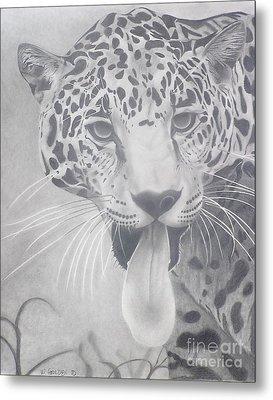 Leopard Metal Print by Wil Golden