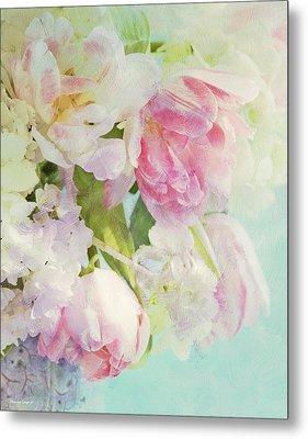 Les Fleurs Metal Print by Theresa Tahara