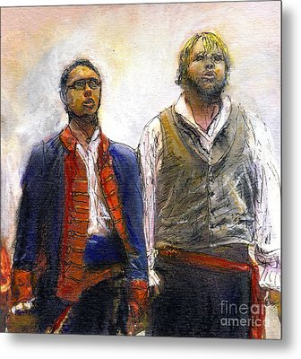 Les Miserables Metal Print
