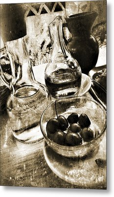 Les Olives Metal Print by Selke Boris