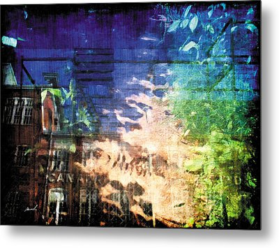 Metal Print featuring the photograph Less Travelled 20 by The Art of Marsha Charlebois