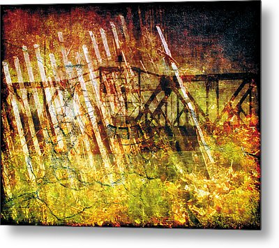 Metal Print featuring the photograph Less Travelled 22 by The Art of Marsha Charlebois