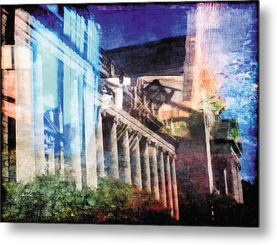 Metal Print featuring the photograph Less Travelled 23 by The Art of Marsha Charlebois