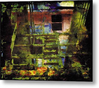 Metal Print featuring the photograph Less Travelled 25 by The Art of Marsha Charlebois