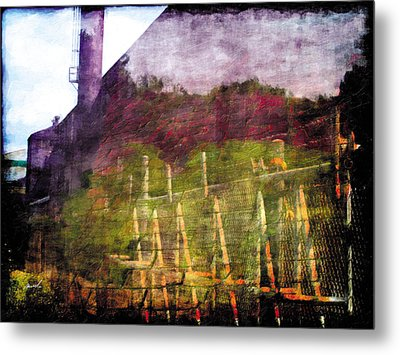 Metal Print featuring the photograph Less Travelled 26 by The Art of Marsha Charlebois