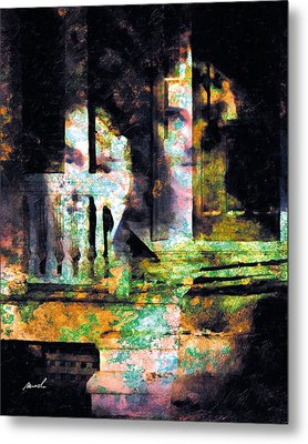 Metal Print featuring the photograph Less Travelled 27 by The Art of Marsha Charlebois