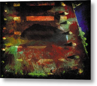 Metal Print featuring the photograph Less Travelled 28 by The Art of Marsha Charlebois