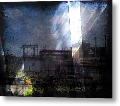 Metal Print featuring the photograph Less Travelled 29 by The Art of Marsha Charlebois