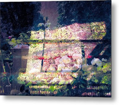 Metal Print featuring the photograph Less Travelled 30 by The Art of Marsha Charlebois