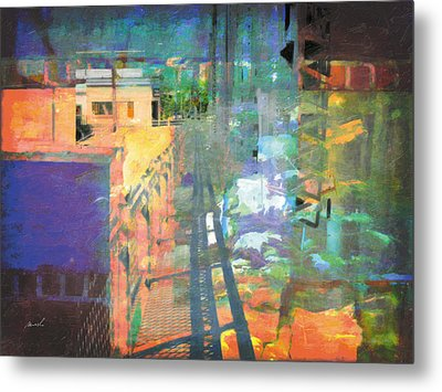 Metal Print featuring the photograph Less Travelled 31 by The Art of Marsha Charlebois