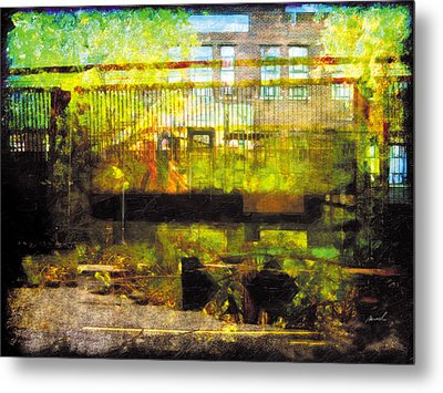 Metal Print featuring the photograph Less Travelled 32 by The Art of Marsha Charlebois