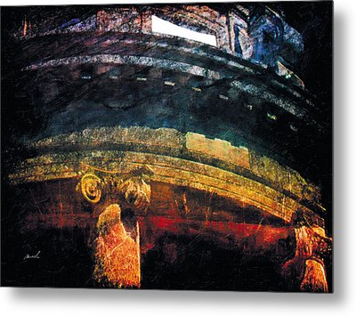 Metal Print featuring the photograph Less Travelled 33 by The Art of Marsha Charlebois