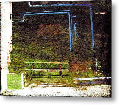 Metal Print featuring the photograph Less Travelled 34 by The Art of Marsha Charlebois