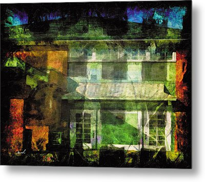 Metal Print featuring the photograph Less Travelled 35 by The Art of Marsha Charlebois