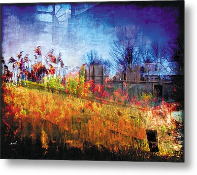 Metal Print featuring the photograph Less Travelled 36 by The Art of Marsha Charlebois