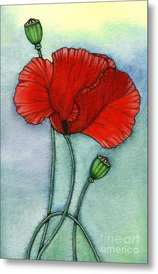 Lest We Forget Metal Print by Nora Blansett