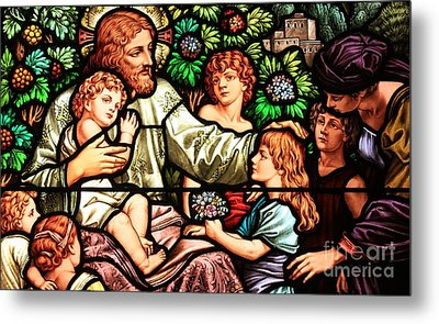 Let The Children Come To Me Metal Print by Adam Jewell