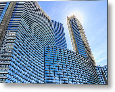 Let The Sun Shine Metal Print by Tammy Espino