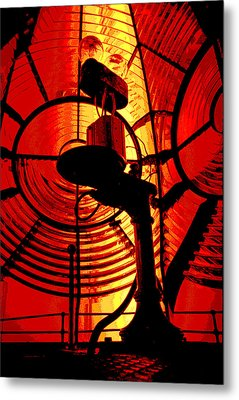 Metal Print featuring the photograph Let There Be Light by Mike Flynn