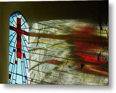 Let There Be Light Metal Print by Wendy Wilton