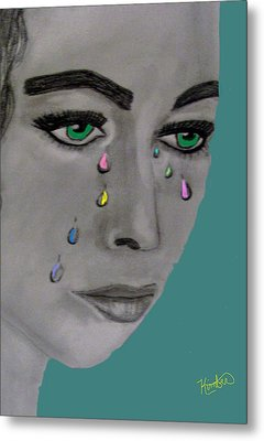 Let There Be Tears Metal Print