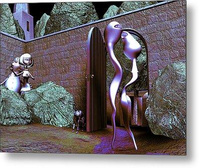 Let Us Retern Home Metal Print by Gallery Nex