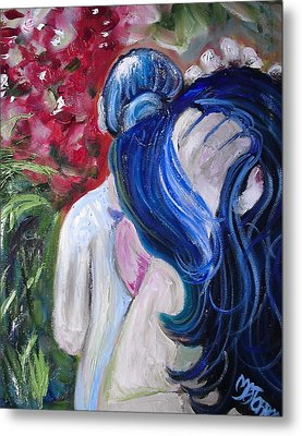 Let Your Hair Down Metal Print by Melissa Torres