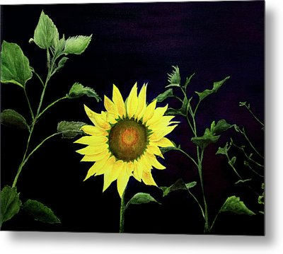 Metal Print featuring the painting Let Your Light So Shine by Jane Autry