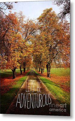 Lets Be Adventurous Metal Print by Sylvia Cook