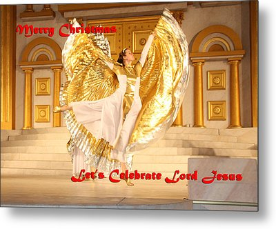 Let's Celebrate Lord Jesus4 Metal Print