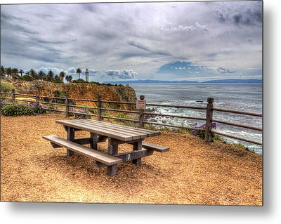 Let's Picnic Metal Print by Heidi Smith