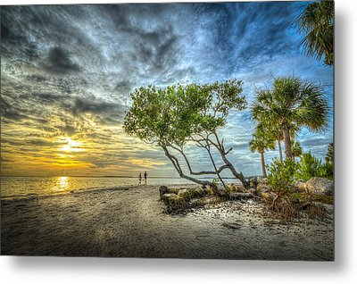 Let's Stay Here Forever Metal Print by Marvin Spates