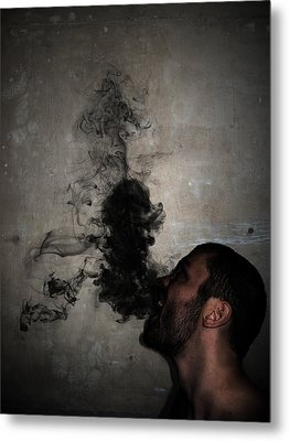 Letting The Darkness Out Metal Print by Nicklas Gustafsson