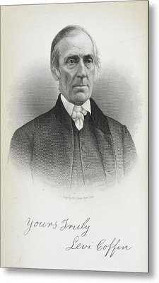 Levi Coffin Metal Print by British Library