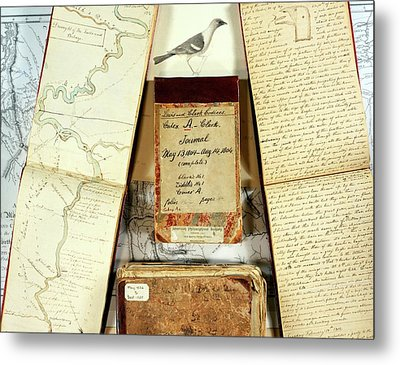 Lewis And Clark Expedition Journals Metal Print
