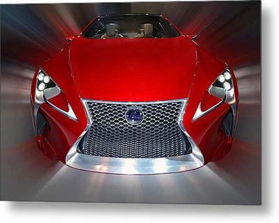 Lexus L F - L C Hybrid 2013 Metal Print