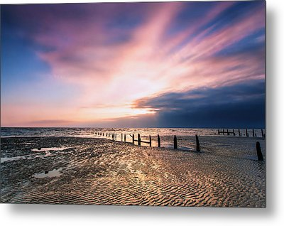 Leysdown Dawn Metal Print