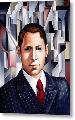 L'homme D'affaire Metal Print by Catherine Abel