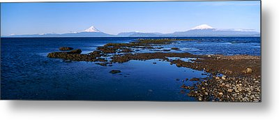 Lianquihue Lake Osorno Chile Metal Print by Panoramic Images